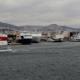 Fährschiffe im Hafen von Piräus. Foto: Orestis Panagiotou/Archiv