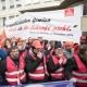 Protest in Berlin gegen Siemens-Stellenabbau