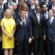 Macron richtet Appell an Zuckerberg und Konzernchefs