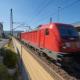 Güterwagenlärm: Bahn testet kleinere Lärmschutzwände