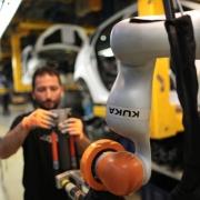 Robotor des Herstellers Kuka