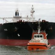 Öltanker in Wilhelmshaven