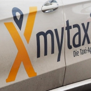 Werbung für MyTaxi