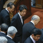 Ministerpräsident Shinzo Abe