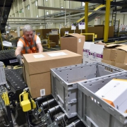 Amazon-Logistikzentrum in Brandenburg