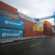 Container Terminal in Mainz