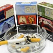 Schockbilder auf Zigarettenpackungen