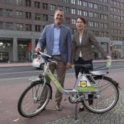 Neues Verleihsystem für Fahrräder