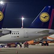 Lufthansa-Pilotenstreik in Hamburg