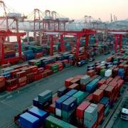 Busan Containerhafen