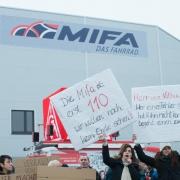 Proteste beim Fahrradhersteller Mifa