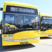 Elektro-Busse der BVG