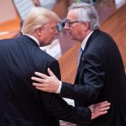 Donald Trump und Jean-Claude Juncker