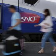 SNCF-Zug in Paris